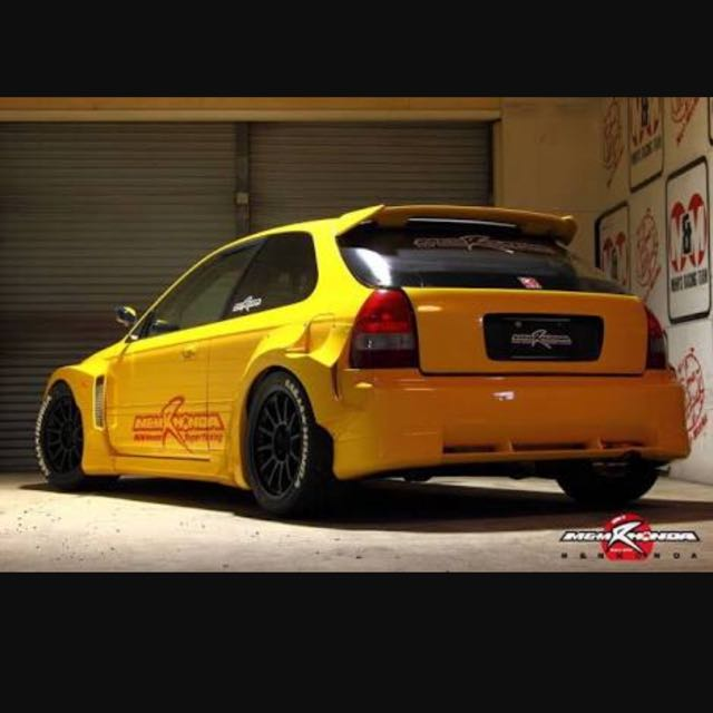 M&M EK Civic Wide Bodykit