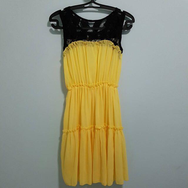 NEW Yellow Dress