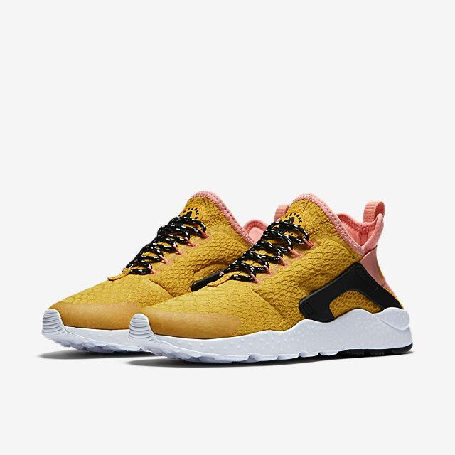 4dfe89d43bf1 Nike Air Huarache Ultra SE (Women) - Gold Dart Bright Melon Black ...