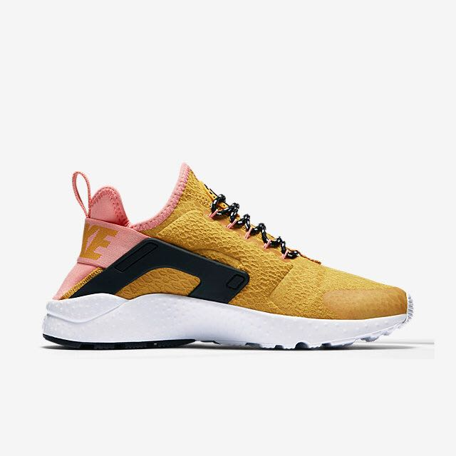2a2f9db7d19b Nike Air Huarache Ultra SE (Women) - Gold Dart Bright Melon Black Gold Dart