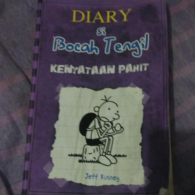 Novel Diary Si Bocah Tengil (Diary Of The Wimpy Kid)