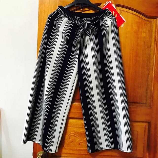 黑白條紋OL最愛褲子