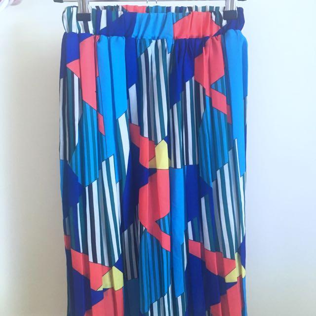 OSFA Pleated Skirt