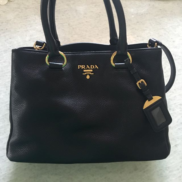 f65884682c13 ... official prada bn2878 vitello daino tote leather bag luxury bags  wallets on carousell d0ee1 07725 ...