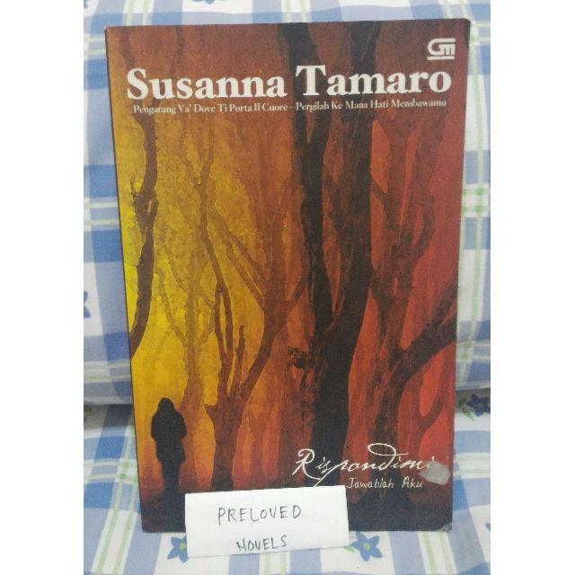 [Preloved] Rispondimi - Jawablah aku / Susanna Tamaro / Bahasa Indonesia