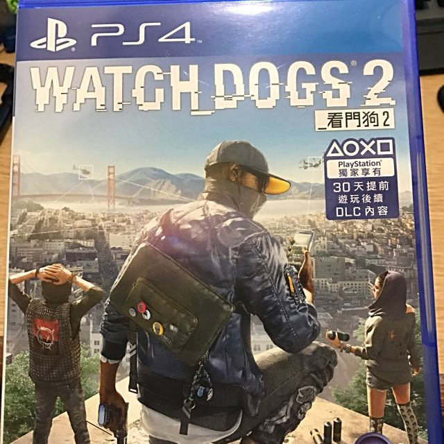 PS4-看門狗2(中文版)