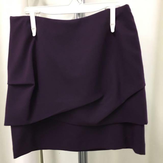Purple Mini Skirt Lucian Matis