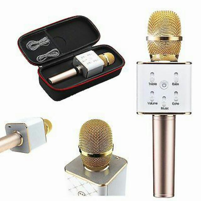 Q7 Wireless Bluetooth Microphone