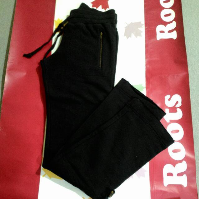 ROOTS女全新棉褲XS
