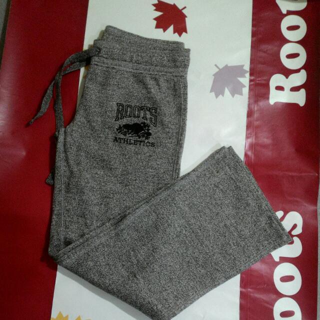 ROOTS女全新平口棉褲XS