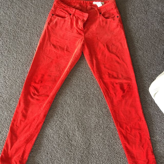 Sass And Bide Red Cords