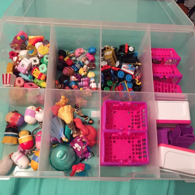 Shopkins, Thomas The Tank Engine, Tsum Tsum's, Mini Mixels, Twozies