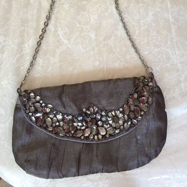Small Purse With Stones