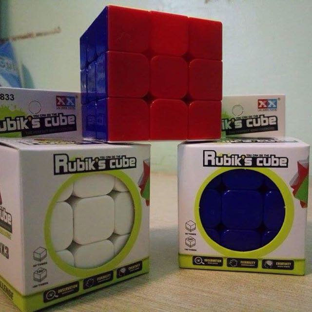 Stickerless 3x3x3