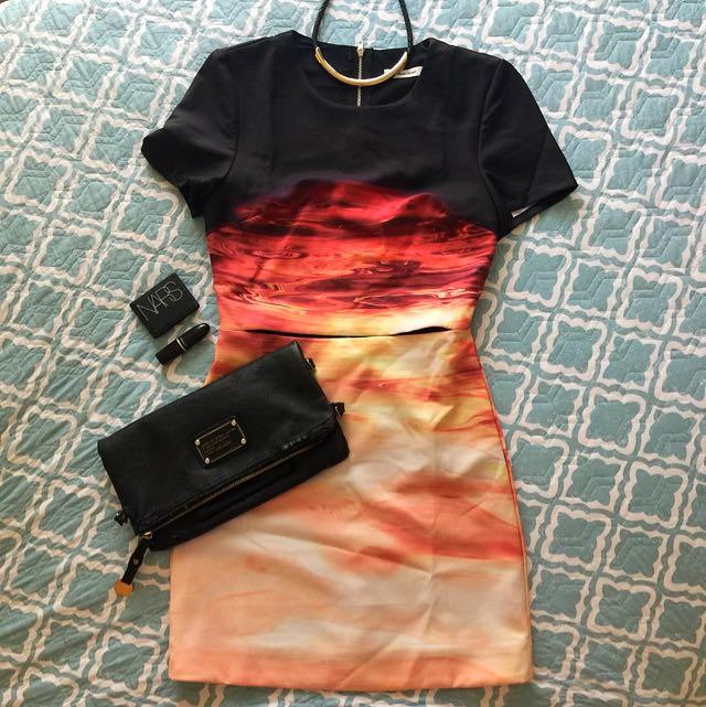 Sunset Section Dress Size 8