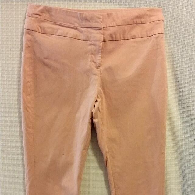 Suzy Shier Peach Super Stretchy Pants