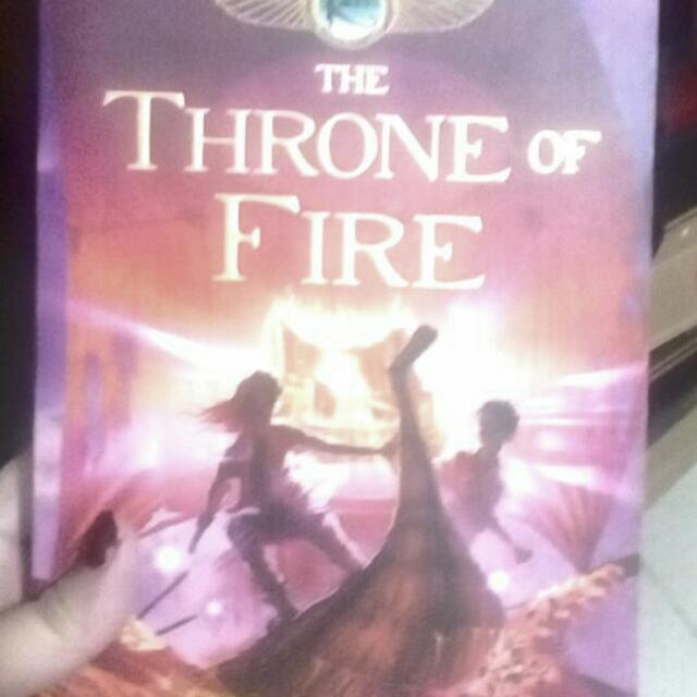 Throne Of Fire (Rick Riordan)
