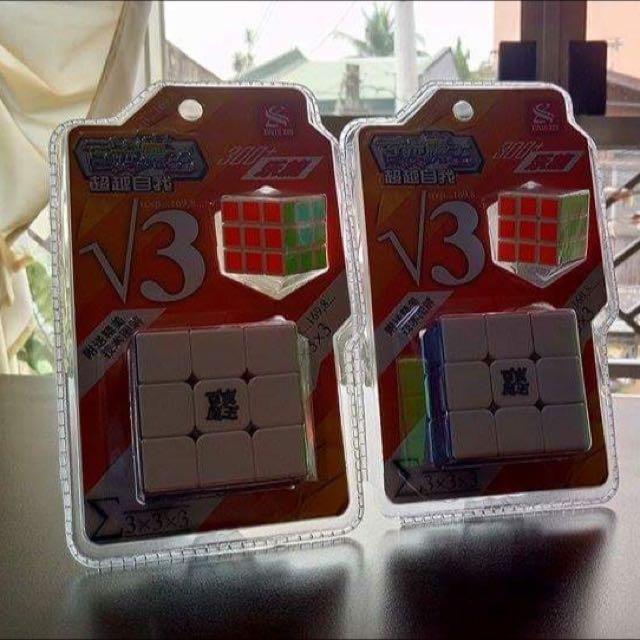 v3 3x3x3 Rubik's Cube With Mini Cube