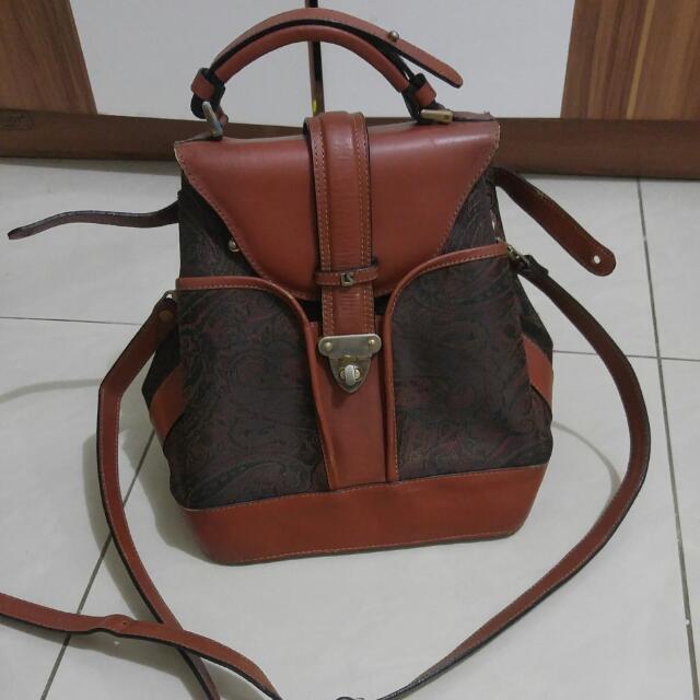 Vintage Lesach Bag