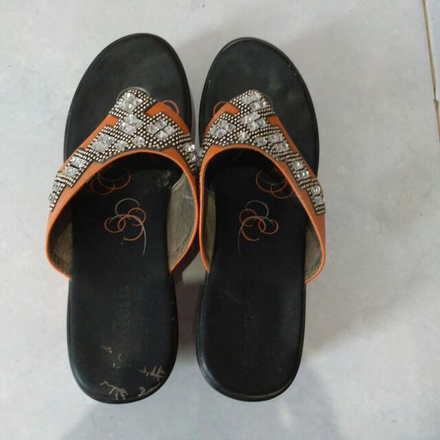 Wedges Sepatu Sandal Heels No.37