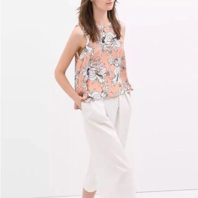 Zara Inspired Crop Top M