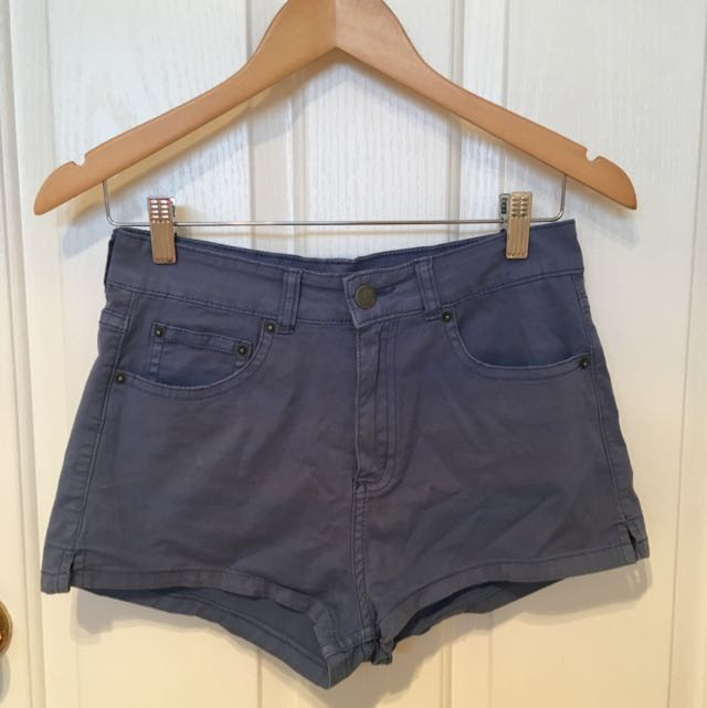 Ziggy High Waisted Short Shorts Size 10