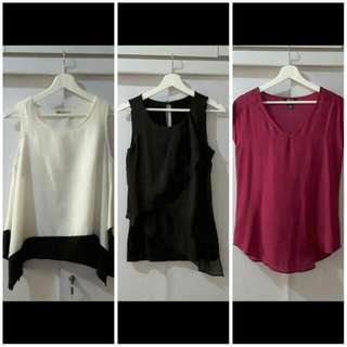 SALE Sleeveless Top (ALL 60K)