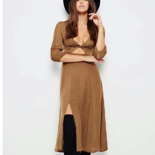XS New Olive Color Sommers Dress