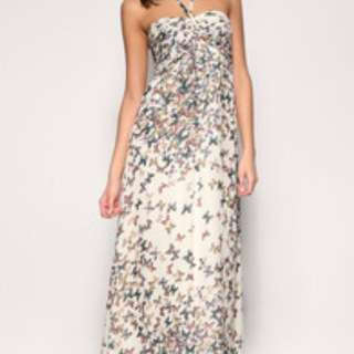 Ted Baker Butterfly Maxi Dress