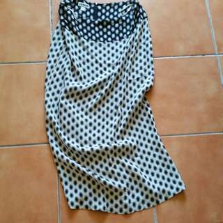 Verge Long Skirt