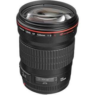 Canon 135mm f2L