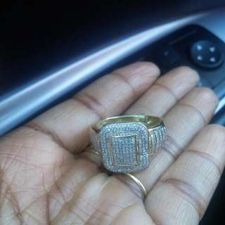 Beautiful DIAMOND RING (can Be Resized)