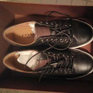 Coach 8.5 Leather Shoes