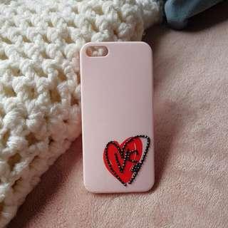 IPhone 5 Pink Victorias Secret Phone Case