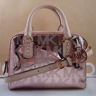 Michael Kors Rose Gold Small Handbag