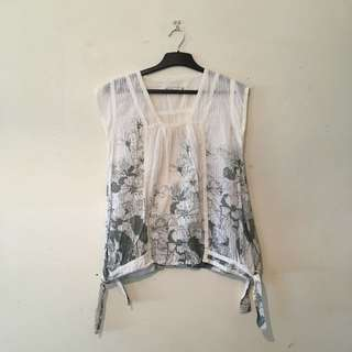 Cotton Flower Top