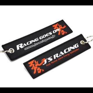 J's Racing Key Tag