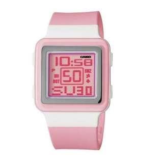 Casio Watch LDF-20-4AVDR Poptone Digital Women Pink Strap (ORIGINAL)