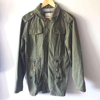The Academy Brand Parka Military Jacket