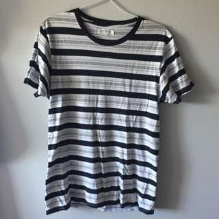 Assembly Label Striped Tee