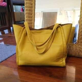 Canary Yellow Hand Bag