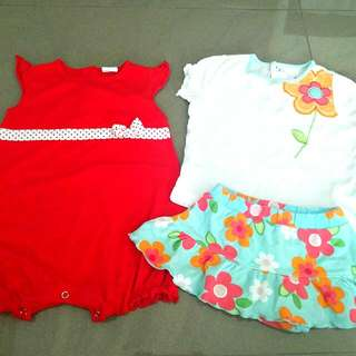 Carter's Top And Skirt, Tollyjoy Romper