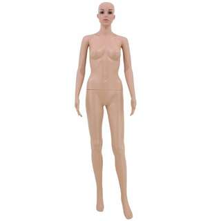 Female standing with face mannequin (F-5)