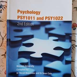 PSYCHOLOGY PSY1011 & PSY1022