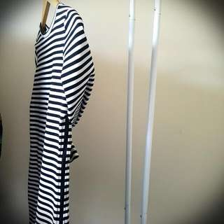 BEC & BRIDGE Striped Mini Dress