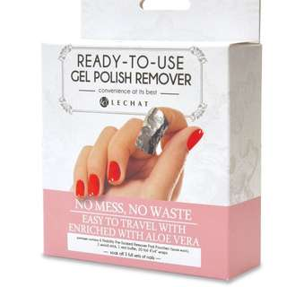 Nobility – Ready-To-Use Gel Polish Remover Pads Box