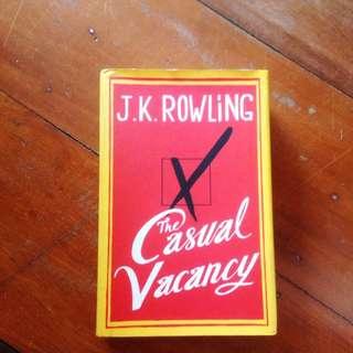 Casual Vacancy By J.K. Rowling