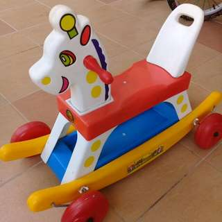 Rocking Horse And Vtech Baby Walker