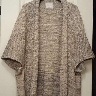 Zara Knit Draped Sweater