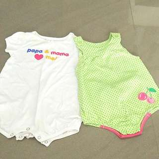 One Year old Romper From Baby Bob And Tollyjoy